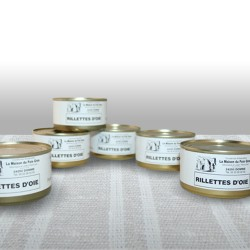 Lot Rillettes d' oie 130g -...