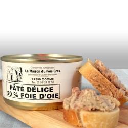 Lot Pâté Délice 20% de foie...