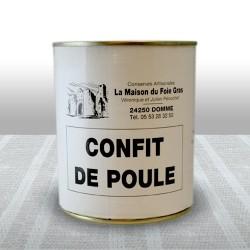 Confit de Poule (2 cuisses)...