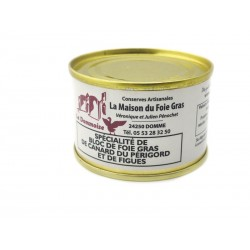 Spécialité bloc de foie gras de canard à la figue 65 g