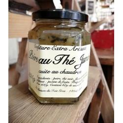 Confiture extra de poire au thé au Jasmin cuite au chaudron de 325 g