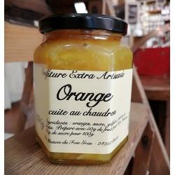 Délicieuse confiture extra d'orange cuite au chaudron de 325 g