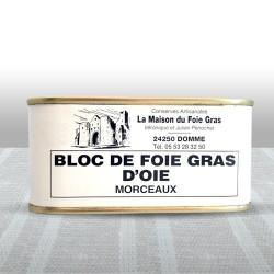 Bloc de foie gras d'oie...