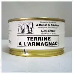 Lot Terrine à l'Armagnac...