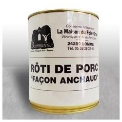 Roti de porc facon Anchaud...