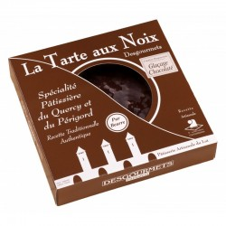 Tarte aux noix chocolat